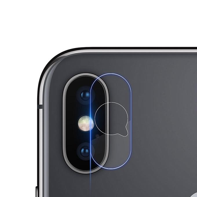 Camera Screen Protector for iPhone X - Transparent