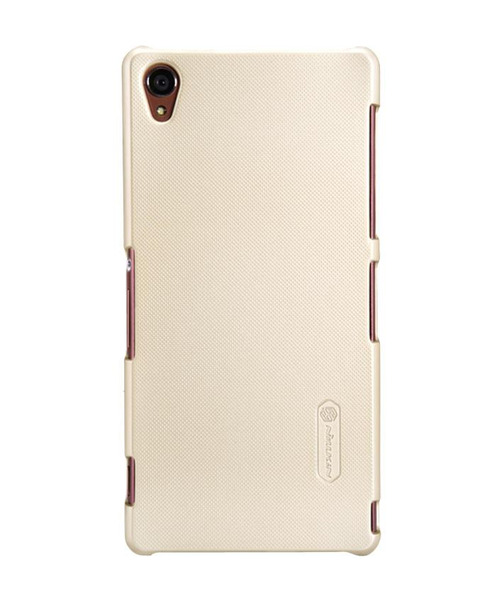 Sony Xperia Z3 Super Frosted Shield Back Case - Golden