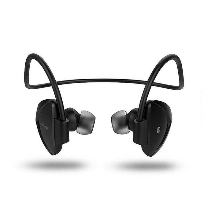 A840BL Universal Sport Wireless Bluetooth Headphone - Black