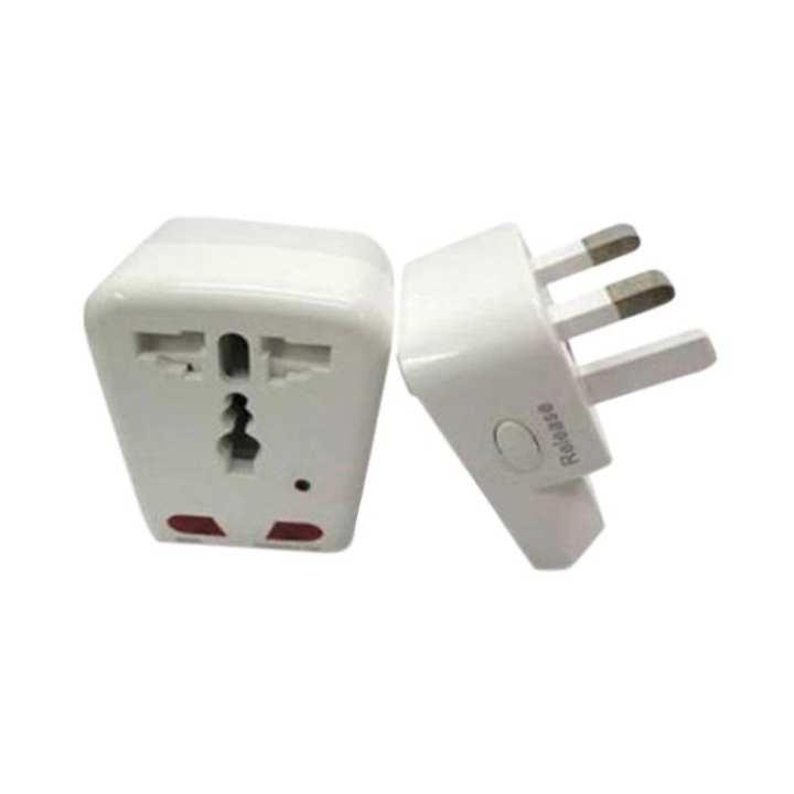 Spy Home Socket Plug Camera Video Recorder- White