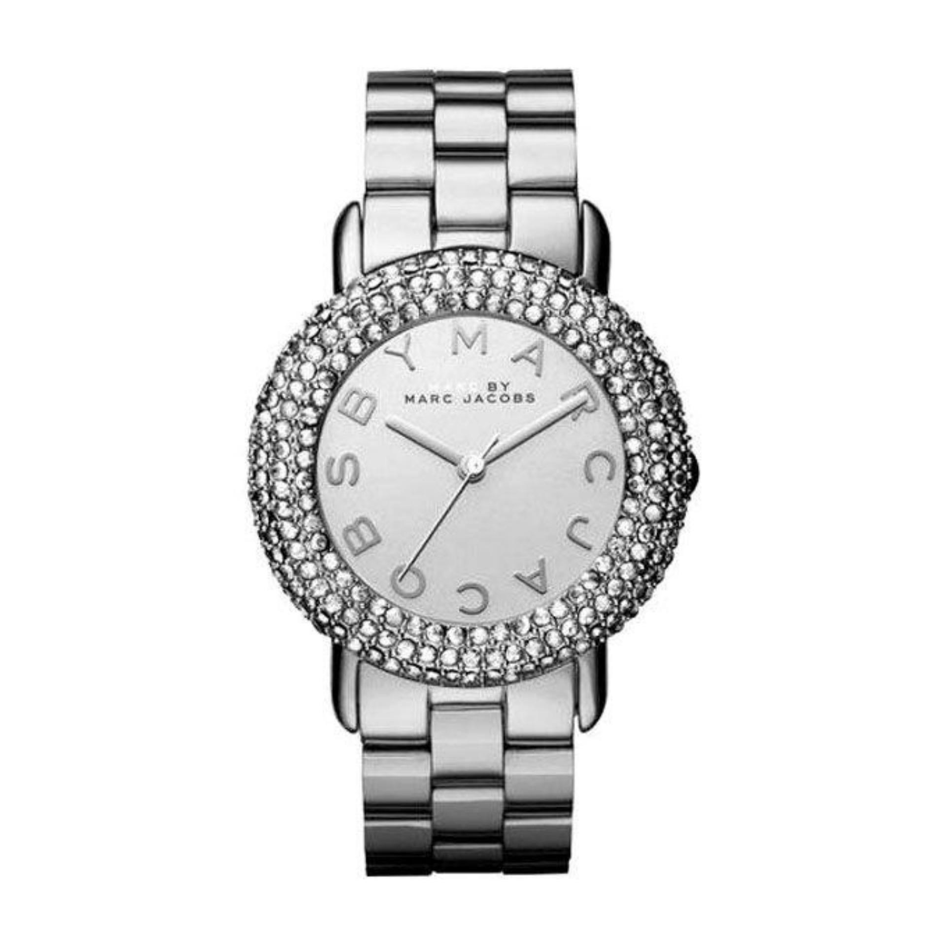 Stainless Steel MBM3190 Analogue Watch For Women - Silver