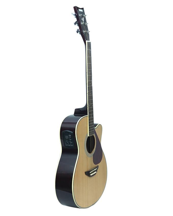 Beige FGX 720 Solid Top Acoustic Guitar