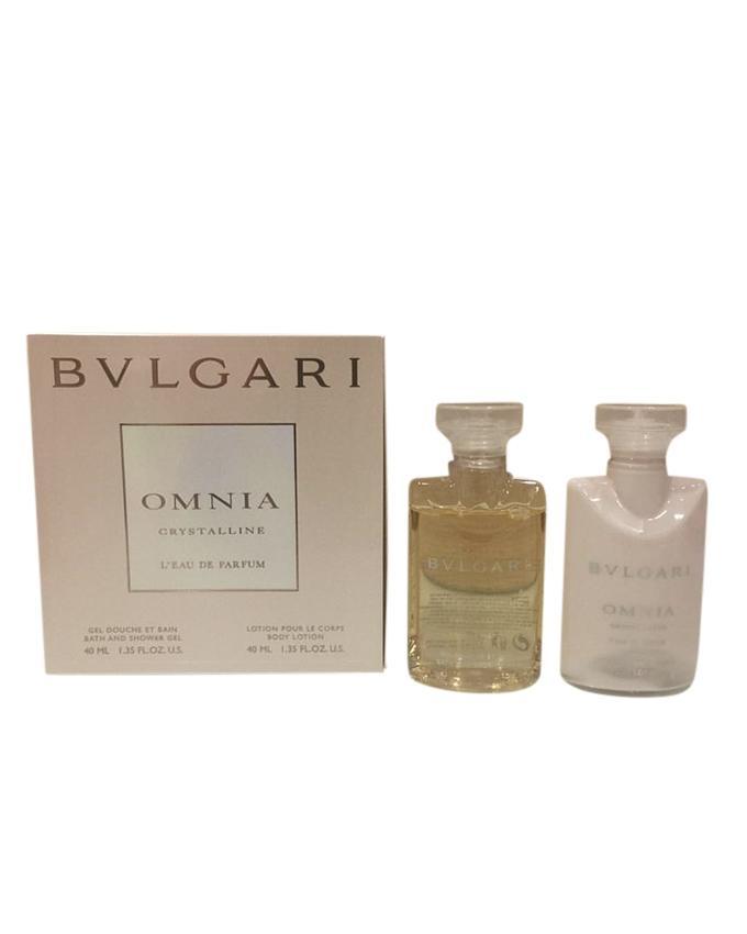 Omnia Crystalline 40ml Body Lotion + 40ml Shower Gel Set for Women