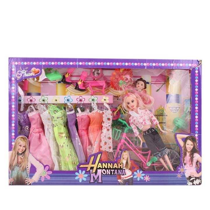 Hannah Montana Doll Set - Multi Color