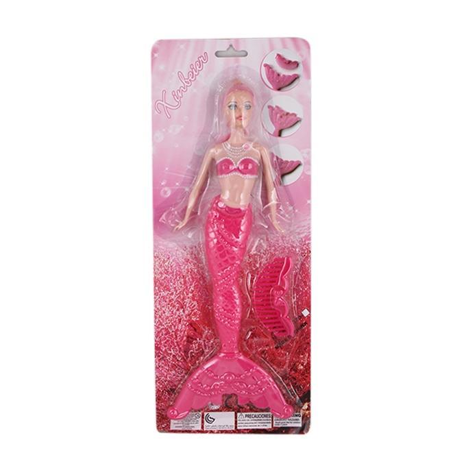 Plastic Mermaid - Pink