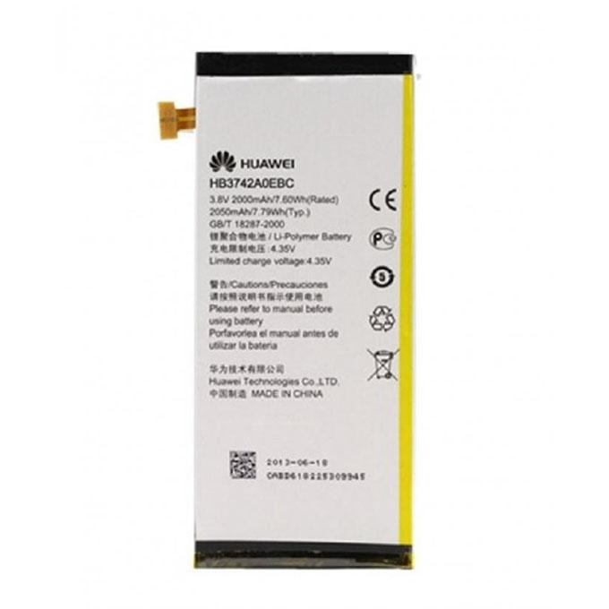 Mobile Battery for Huawei Ascend P6-U06 - 2000mAh