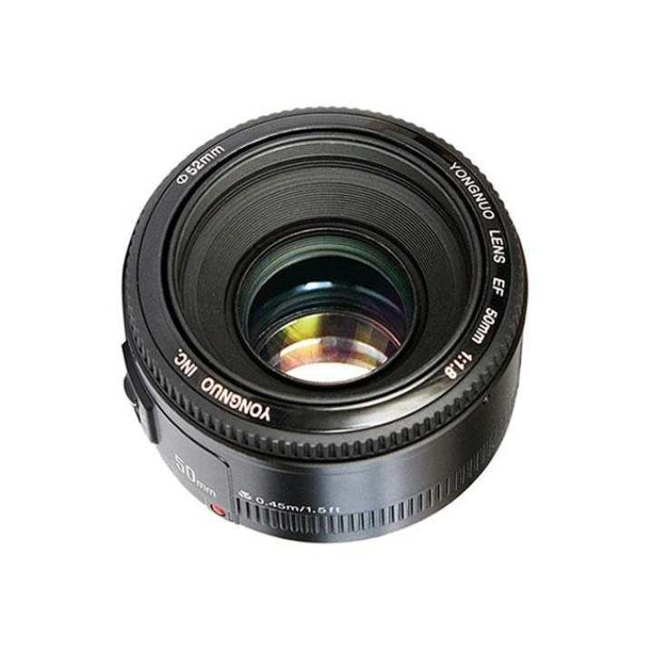 YN 50mm f/1.8 Lens for Canon EF - Black