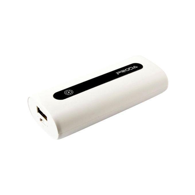 PRODA E5 Power Bank 5000mAh - White
