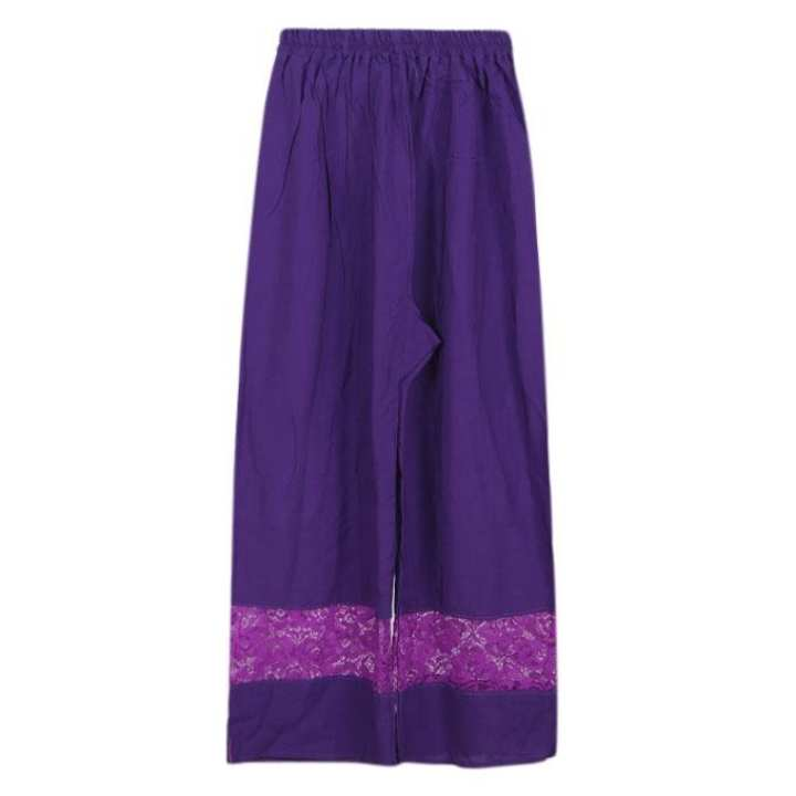 Violet Cotton Palazzo For Girls