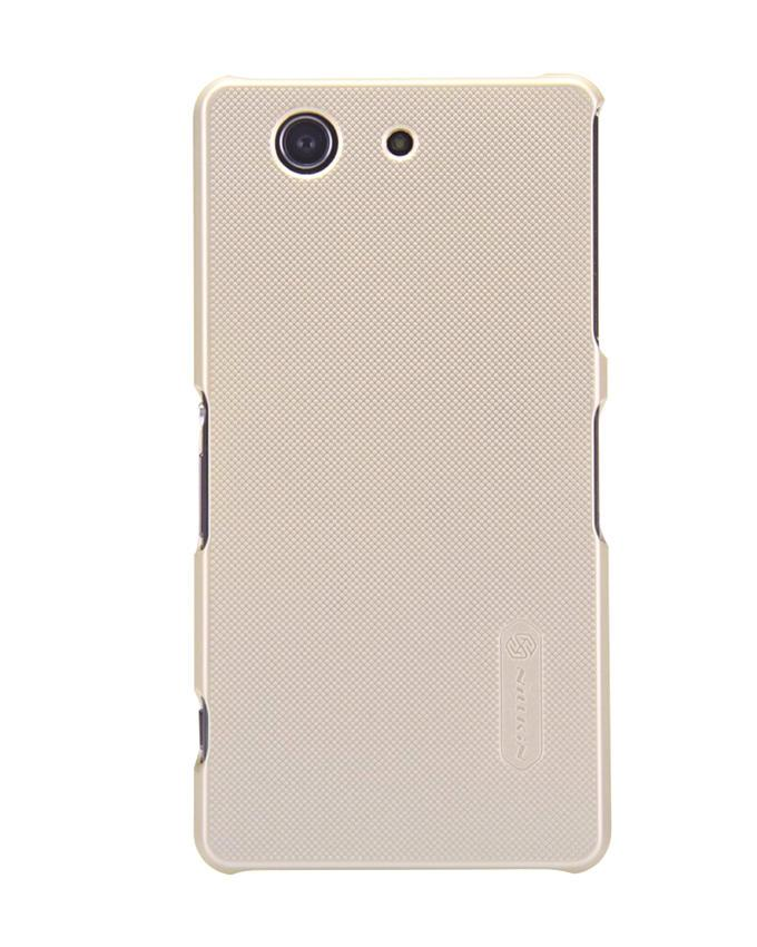 Sony Xperia Z3 Compact Super Frosted Shield Back Case - Golden