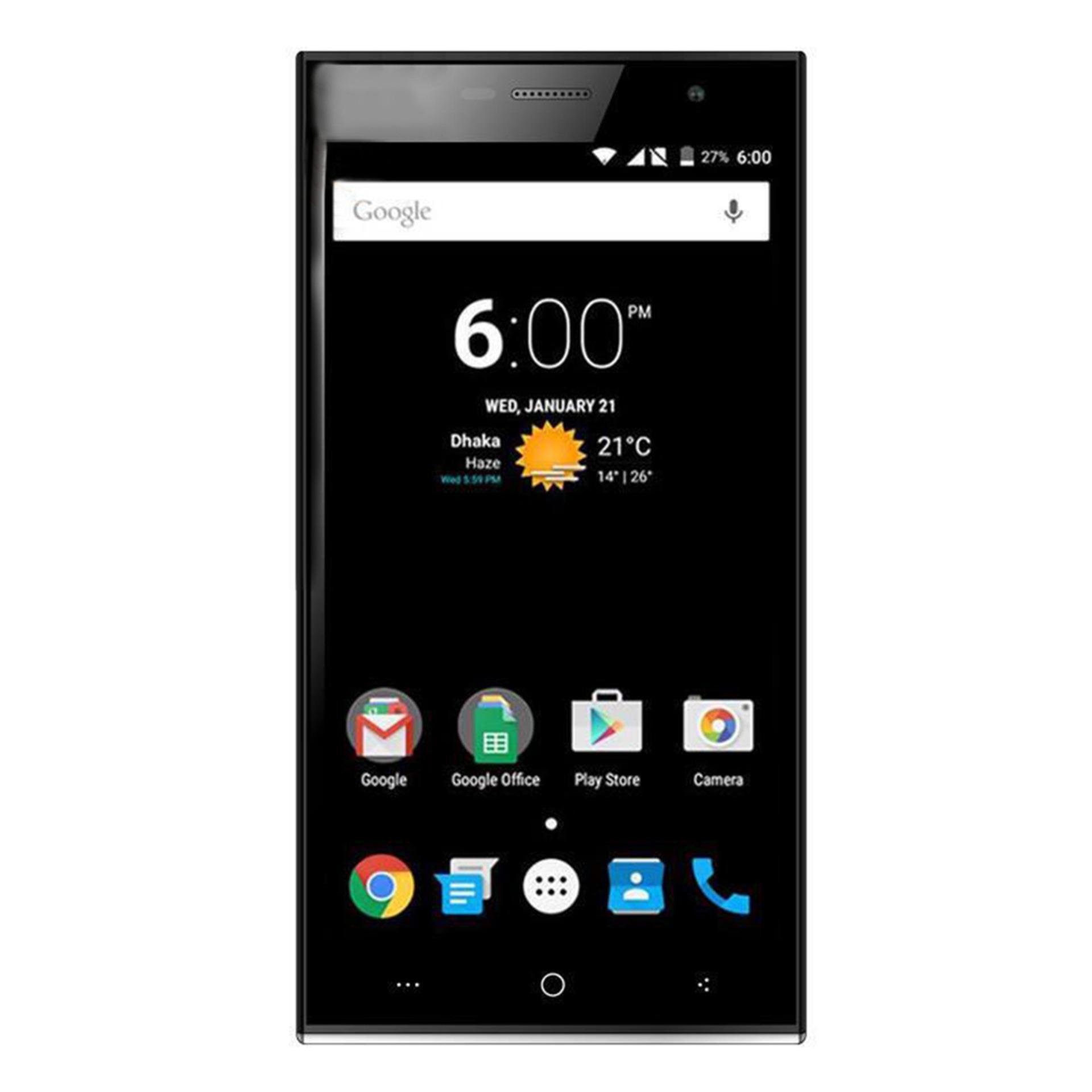 Goldberg ZAP FX1 Dual Sim Smartphone 8GB Grey and Black
