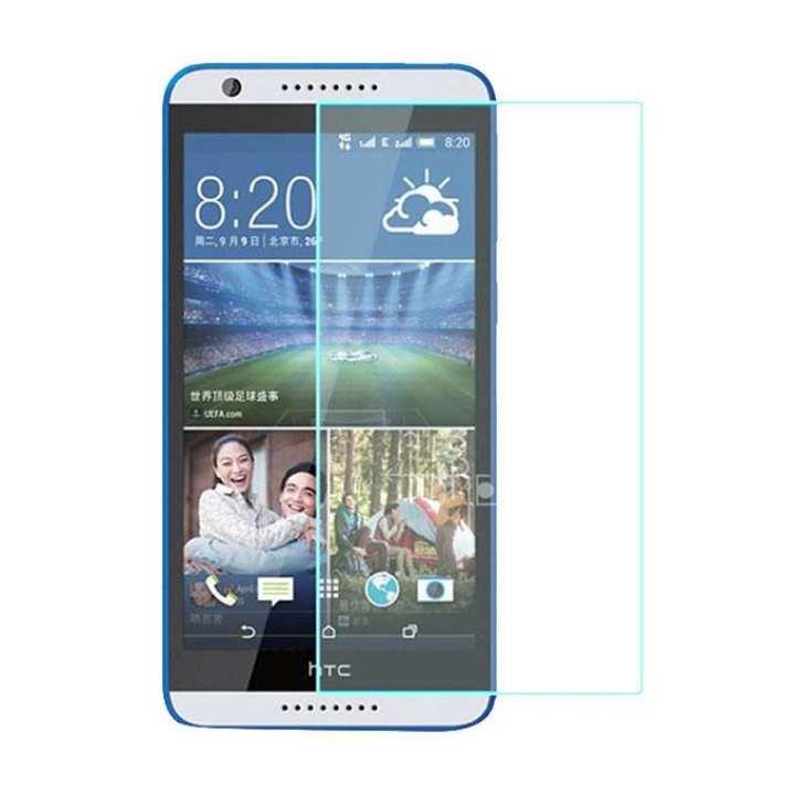 Tempered Glass For Desire 820S Dual SIM - Transparent