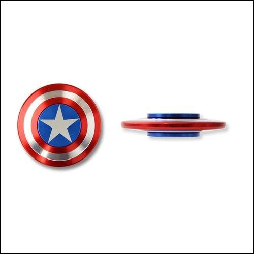 Captain America Iron Man Fidget Spinner Combo