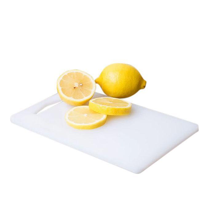 White Poly Cutting Board - White