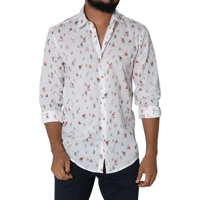 Multi-color Cotton Tanjim Casual Shirt for Men