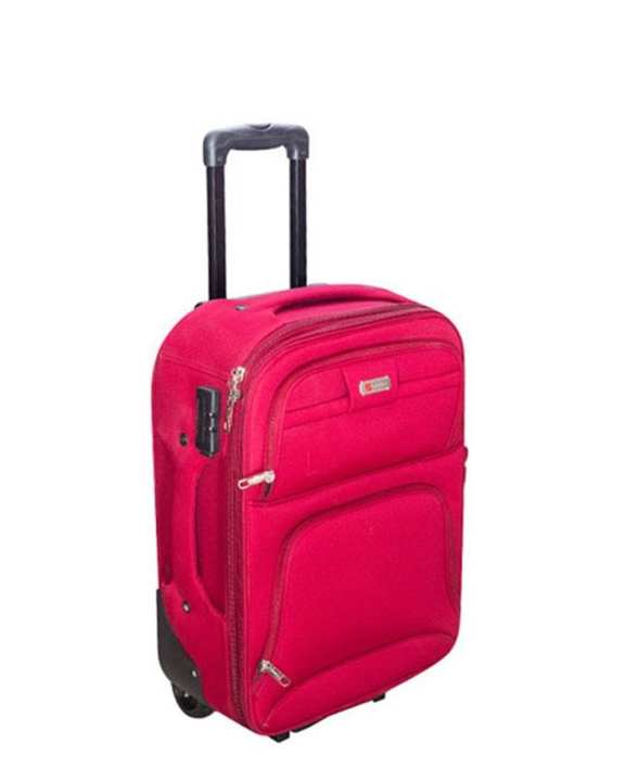 "24"" Hot Pink Parachute Fabric Trolley Bag"