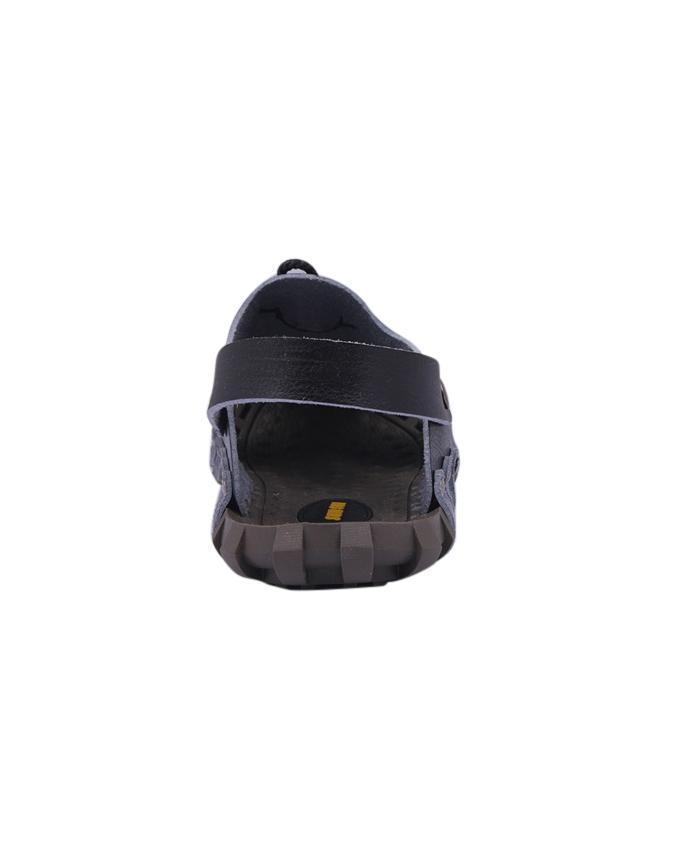PU Sandal For Men - Black