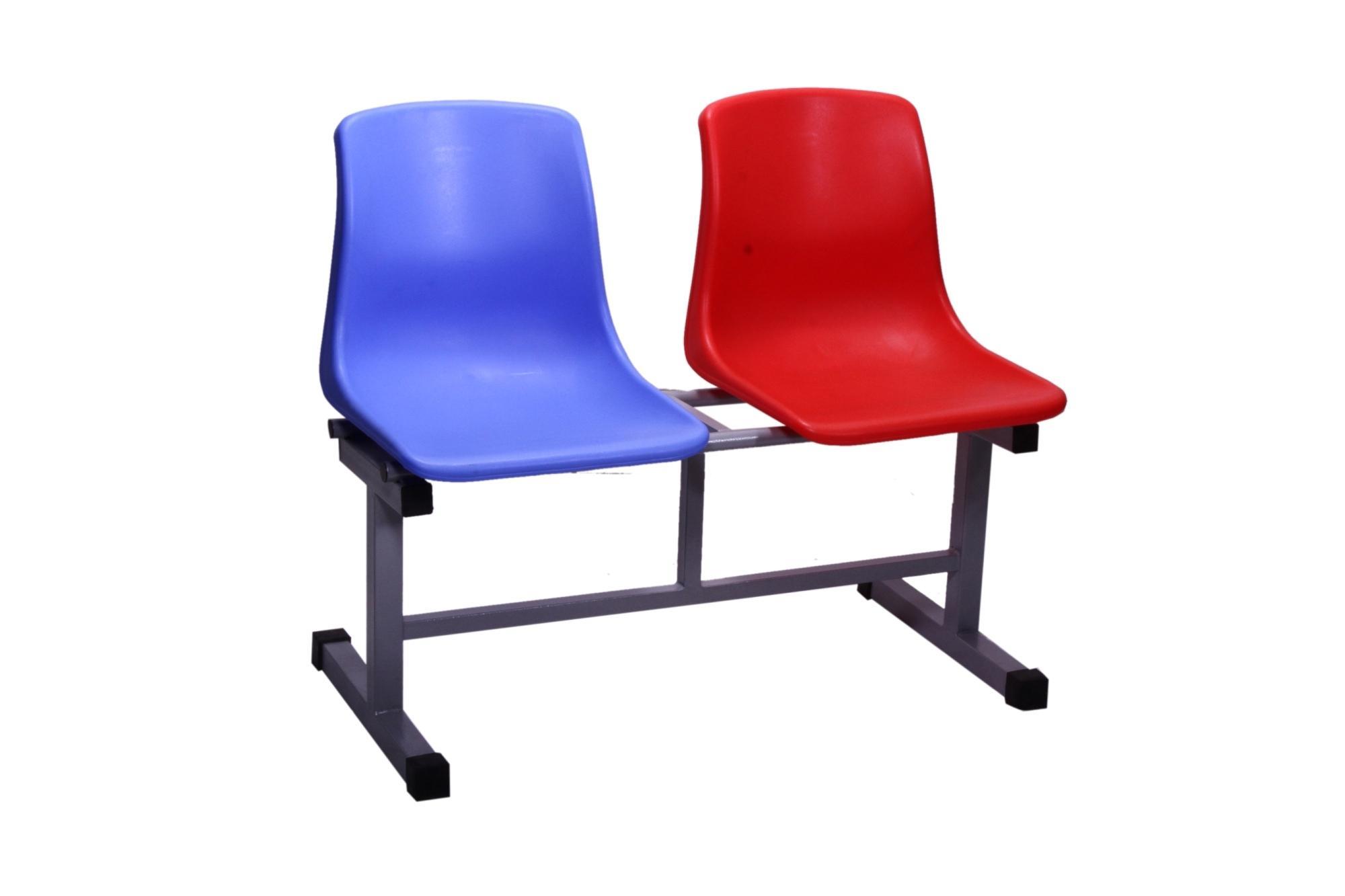 Waiting Furniture Series-CH-02B-Red & Blue