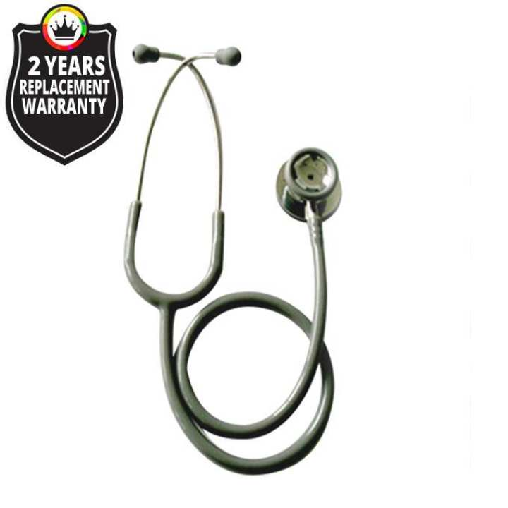 JT S601PF / Professional Stethoscope Adult Dual Head Stainless Steel - Color: Grey