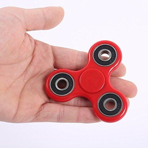 Fidget Spinner Stress Reducer Toy - Red