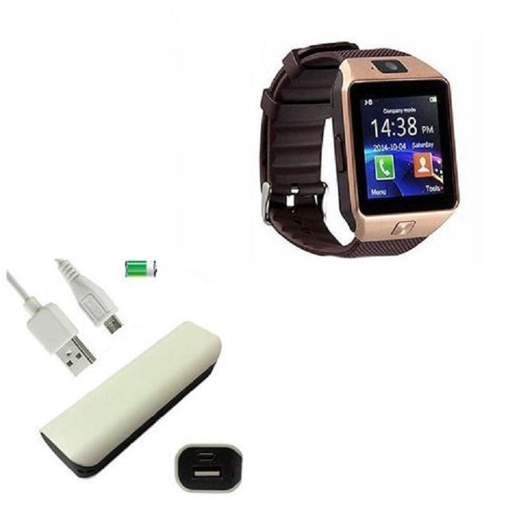 DZ09 Smart watch with 2600mAh Power Bank