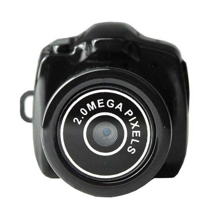 Y2000 Spy Mini Camera 720P - Black