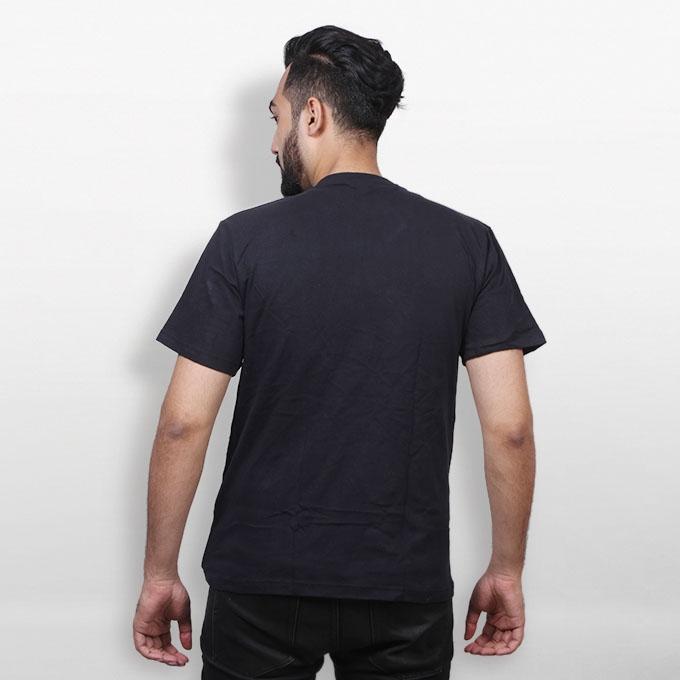 Disco Girl Led Flash Light Up Black Cotton T-shirt for Men