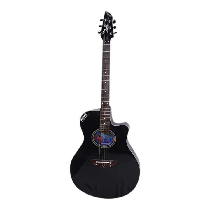 C.M-2 Acoustic Guitar - Black