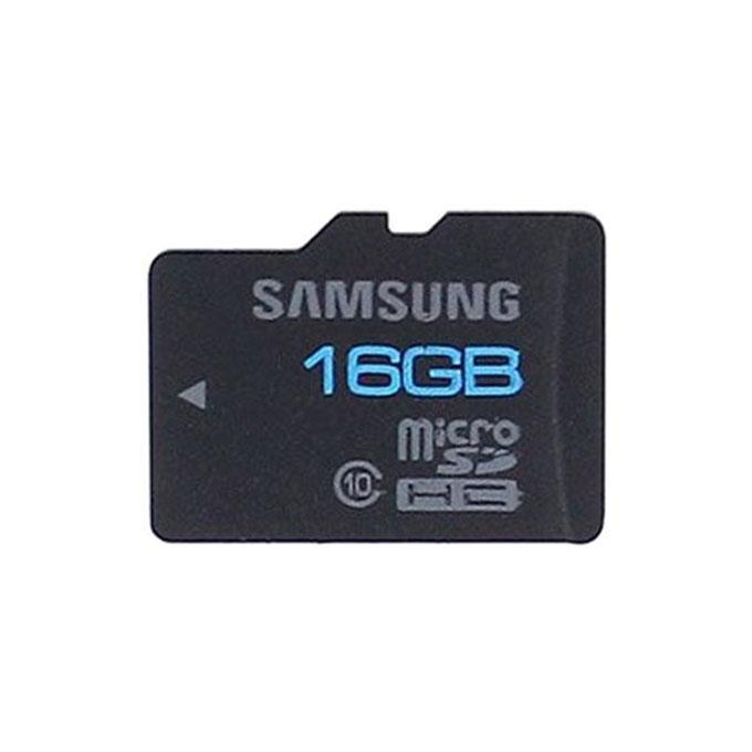 16GB Class 10 Micro SDHC Memory Card - Black