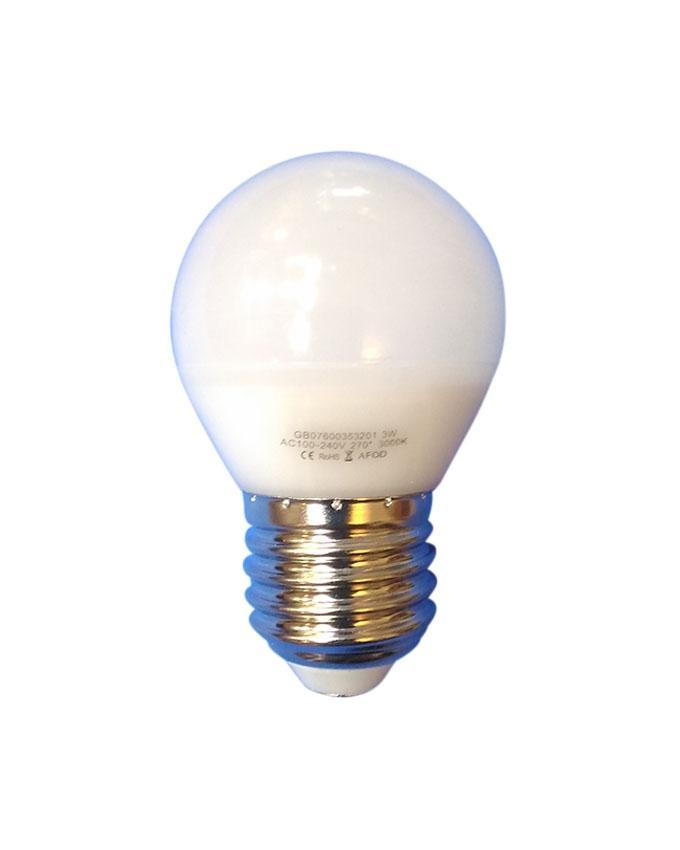 3 Watt Light Bulb B22 - White