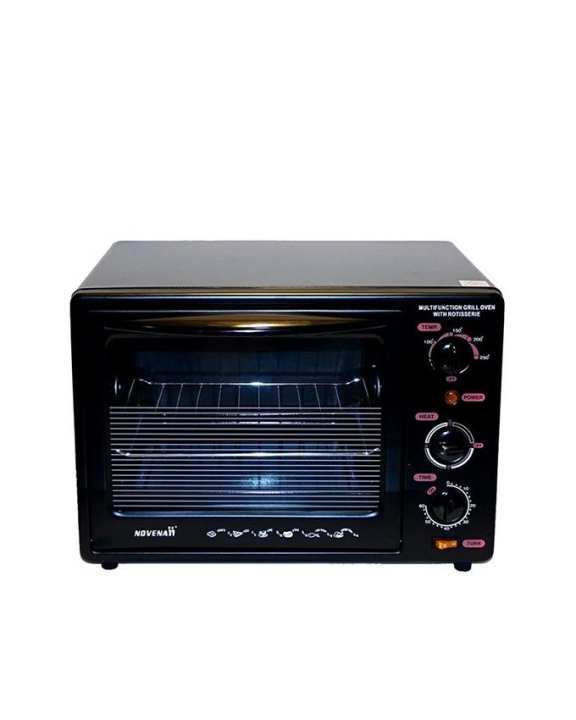 Electric Grill Oven - 24L - Black