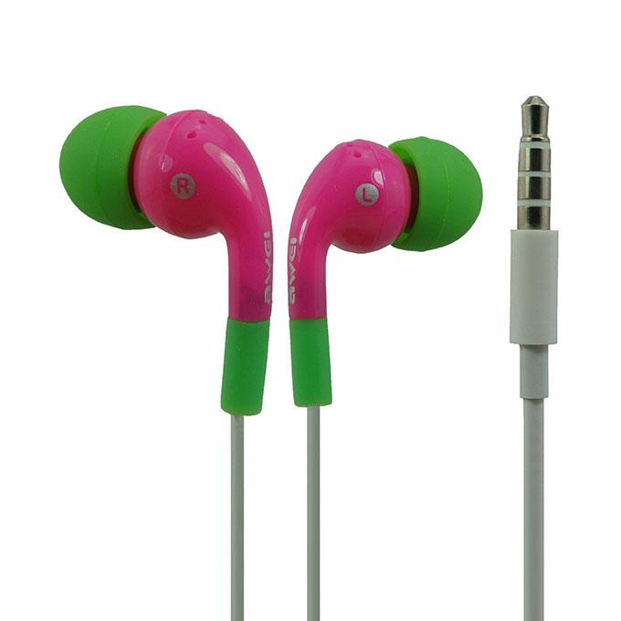 ES-Q9i In-Ear Earphone - Pink and Green