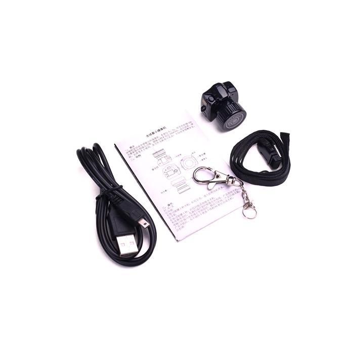 Y2000 Spy Hidden Camera  - Black