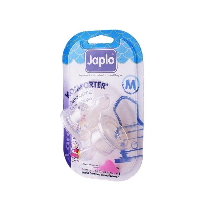 Halal Orthodontic Blister Card Nipple - 2pc - Medium