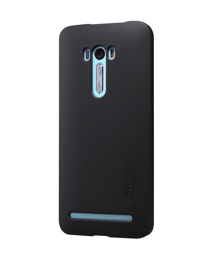 Super Frosted Shield Back Case Cover for Asus Zenfone Selfie ZD551KL - Black