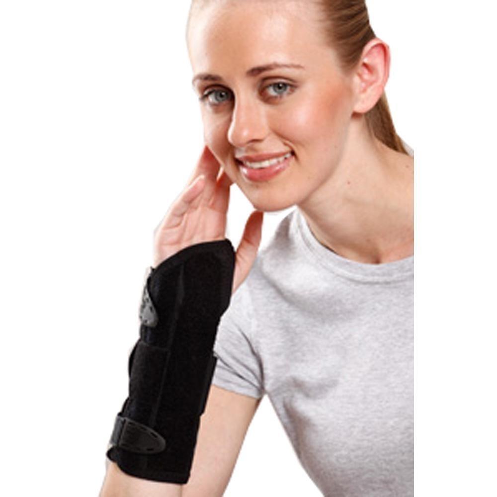 Wrist and Forearm Splint (Right/Left) - Black