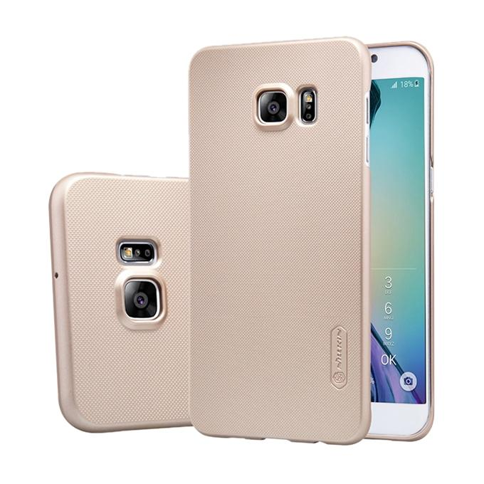 Gold Super Frosted Shield Back Cover for Samsung Galaxy S7 Edge
