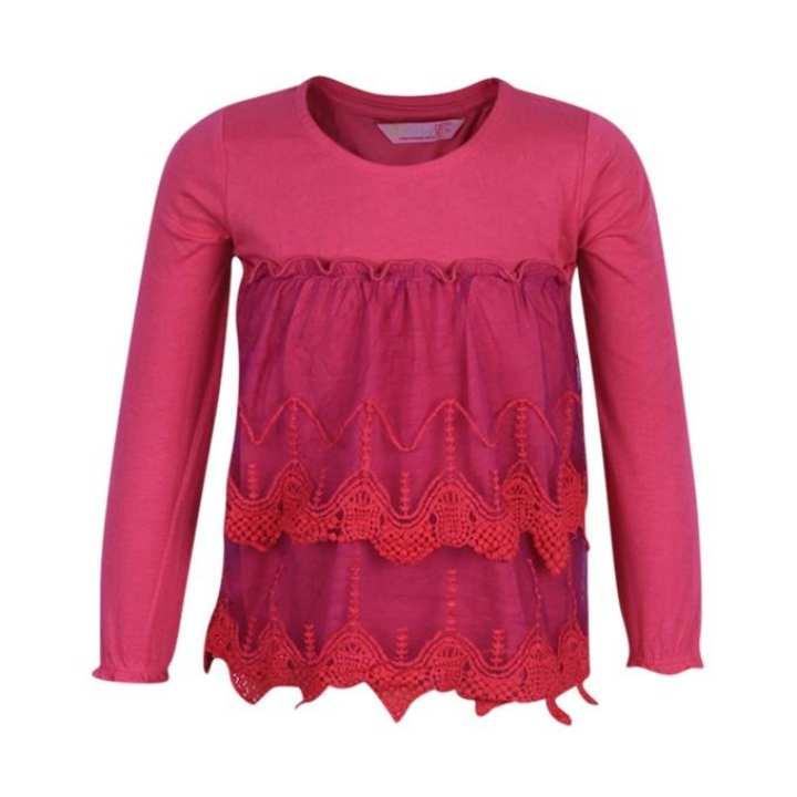Pink Soft Cotton Dress For Girls