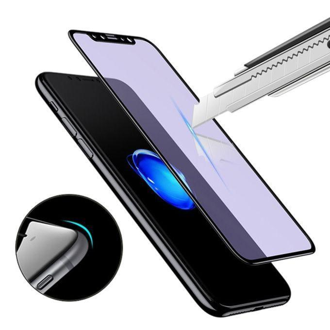 0.23 mm Full Coverage Screen Protector for iPhone X - Black