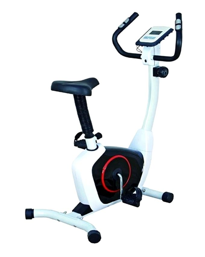 HB-8200hp Exercise Cycle - Black and Silver