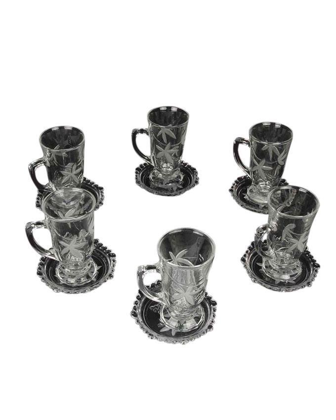 Cup and Saucer Set - Transparent