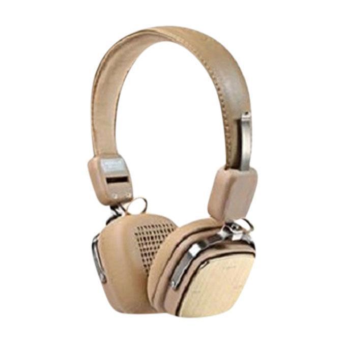 RB-200HB - Bluetooth Headphone - Golden