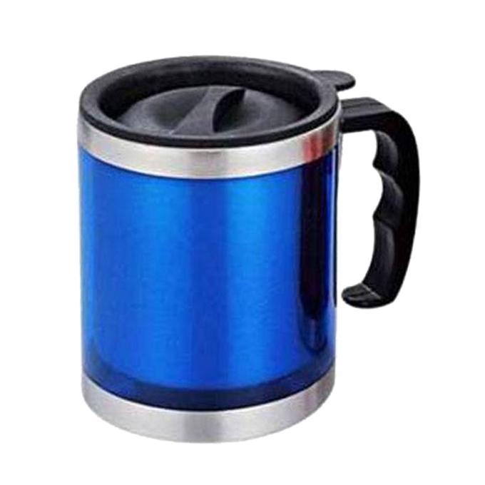 Stainless Steel Travel Mug - Blue