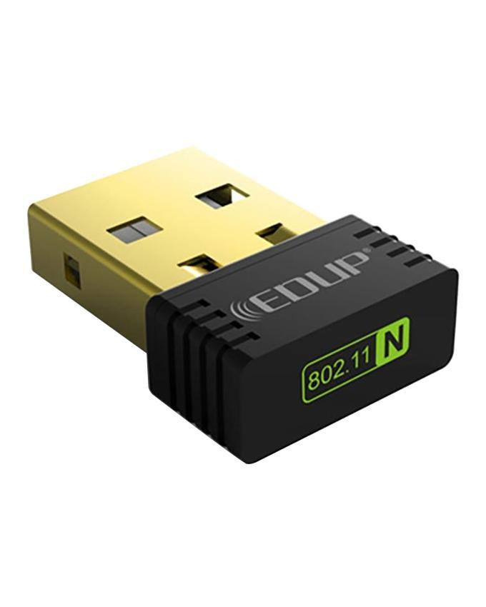EDUP Mini USB Wireless WiFi Adapter 150Mbps – Black
