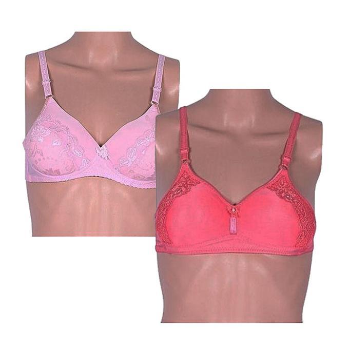 Bangladesh. ADD TO CART. Light Pink and Salmon Foam Bra For Women - 2Pcs ba1143abf