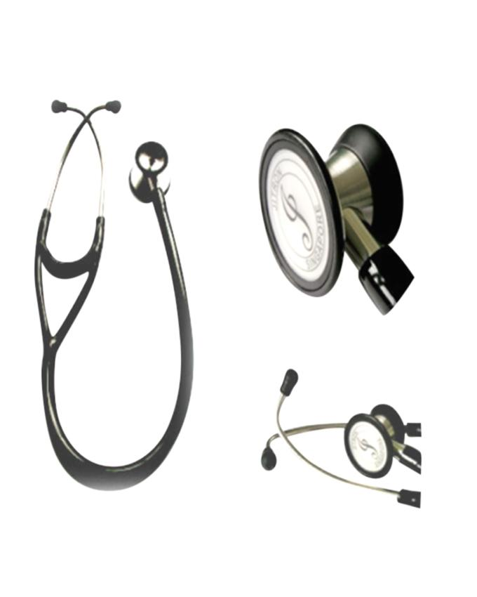 JT S606PF / Pediatric Stethoscope Dual Head Stainless Steel - Color: Black