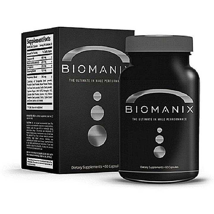BIOMANIX Penis Enlargement - 60 Capsules