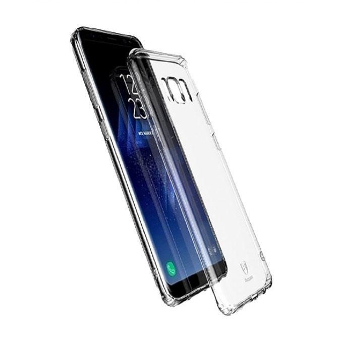 Simple Series Clear TPU Cover for Samsung Galaxy S8 Plus -  Transparent