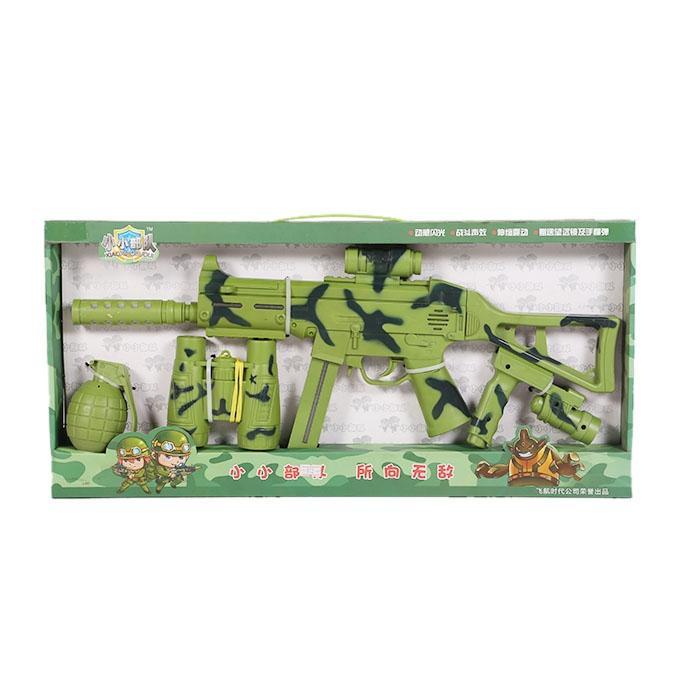 Sound Gun Toy For Kids - Army Printed