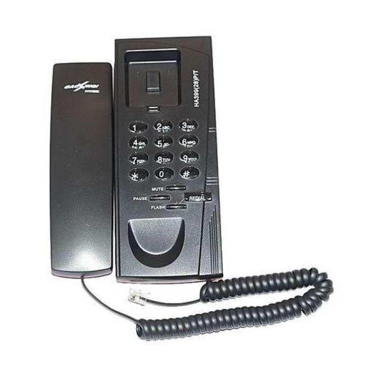 HA39928P-T Intercom Telephone - Black